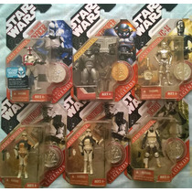 Star Wars Lote Saga Legends Fans Choice Con Moneda