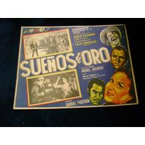 Sueños De Oro Piporro Lobby Card Cartel Poster