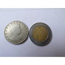 Moneda Antigua 100 Reis 1901 Brasil