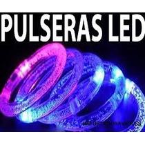 10 Pulseras Led,fiesta,eventos,hielos Led,pulseras Neon Vv4