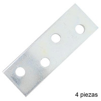 Placa Plana Para Mueble Zinc 2 4-pk 60964 Anvil Mark