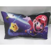 Bonita Almohada De Super Mario Bros Galaxy