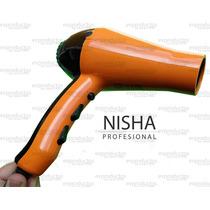 Secadora Profesional Nisha De Salón 2000 Watts