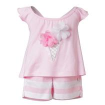 Conjunto Pantalon Y Blusa Para Bebé. Marca Mini Raxevsky