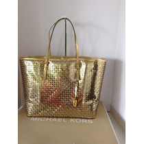 Bolsa Michael Kors Mk Travel Perforated Original