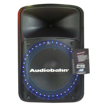 ¡nuevo Modelo! Audiobahn Amplificado Bafle 15 Bluetooth, Fm