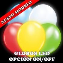 Globo Luz Led $9.00 Bodas, Bautizos, Xv Años, Decoracion Maa