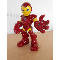 Iron Man Marvel Super Hero Squad Show Alto 28 Cm.sonidos# 43