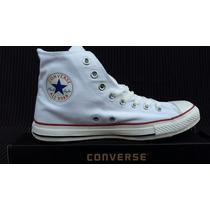 Converse Blanco De Bota, Chuck Taylor, 100% Originales.