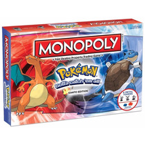 Monopoly: Pokemon Kanto Edition Envio Gratis