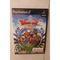 Ps2 Playstation 2 Dragon Quest 8 Videojuego Anime Rpg