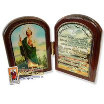 Retablo De San Judas Tadeo - Oración Y Bendición Del Hogar