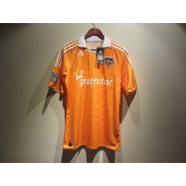 Jersey Adidas Houston Dynamo Local Mls 13/14 Naranja Nuevo