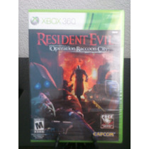 Resident Evil Operation Raccon City Xbox 360 Nuevo De Fabric