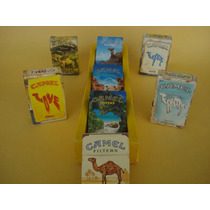 Lote Cajetillas De Camel De Coleccion Usadas