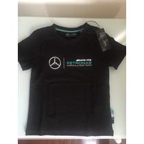 Playera Para Niños Amg Petronas Fórmula One Team