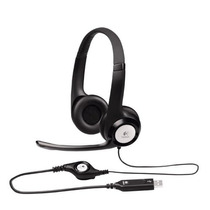 Audifono Logitech Clearchat Comfort/usb Headset H390 (black)