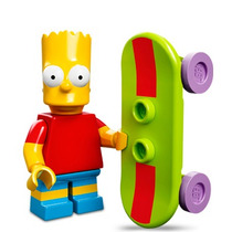 Lego Serie Simpsons 2 Bart Simpson