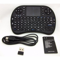 Teclado Inalambrico Recargable 2.4 Ghz Pc,xbox,smartv,tv Box