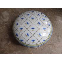 Bonito Alhajero Fabricado En Porcelana Y Metal