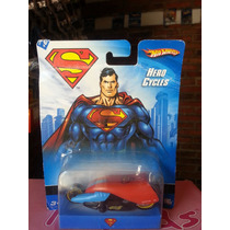 Moto Hero Cycles Superman Hotwheels De Coleccion Ganala