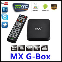 Android Tv Box Top Set Dual Core 4.2.2 Mx ,xbmc Midnight