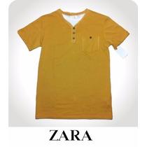 Playera Para Niño Talla 7/8 Original Zara Boys