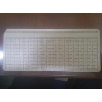 Antigua Tarjeta Perforada Para Computadora De Colección