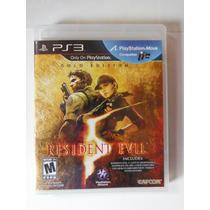 Ps3 Playstation Resident Evil 5 Gold Edition Videogam