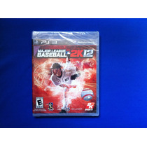 Vendo... Major League Baseball 2k12 ... Para Ps3 ... Maa