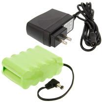Cargador Bateria Recargable 12v P/ Mini Compresor Aerografo