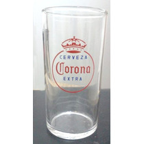 De Coleccion Años 70 Vasos De Vidrio Cerveza Corona Extra