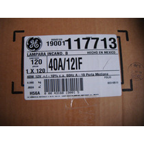 Foco Acumulador 12 Volts 25 Y 40 Watts General Electric Maa