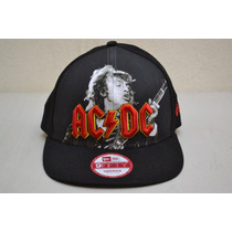 Gorra Ac/dc New Era 9 Fifty Snapback Medim Large Agnus Young