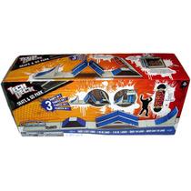 Tech Deck Rampa3en1 Incluye Patineta Ycoleccionador Portable