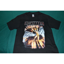 Playera Led Zeppelin - Swan Song -