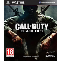 Cod Call Of Duty Black Ops Con Dlc First Strik Ps3 Pakogames