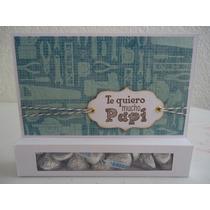 Tarjetas C/chocolates Originales Para Papá Dia Del Padre