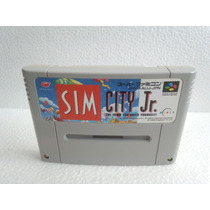 Sim City Jr. Super Nintendo Japonesa