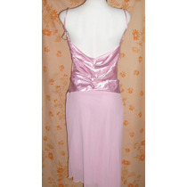 Vestido Nuevo Etiqueta Fiesta Rosa Talla 11 No Limpia Closet