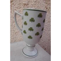 Taza Irish Coffe Treboles Irlanda Europa Bar Cafeteria