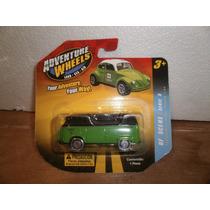 Adventure Wheels Camioneta Vw Volkswagen Combi Verde 1:64