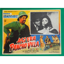 Asi Era Pancho Villa Pedro Armendariz Orig Cartel De Cine