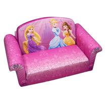 Sofacama Sillon Para Ninos Mickey Minnie Disney Princesas