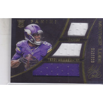 2014 Panini Black Gold Rc 3x Jersey Teddy Bridgewater /299