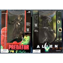 Alien Y Predator Deluxe 12 Pulgadas Mcfarlane Toys 2004