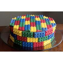 Molde/bandeja/recipiente Lego/bloque Gelatina/paleta/candy