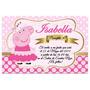 Invitaciones Cumpleaños Peppa Pig Kit Imprimible Bautizo
