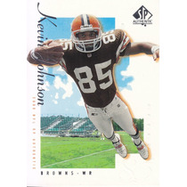 2000 Sp Authentic Kevin Johnson Wr Browns