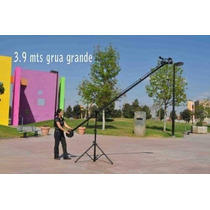 Grua Jib Tv Crane Studio Profesional 4 Mts ,dsl Video,foto